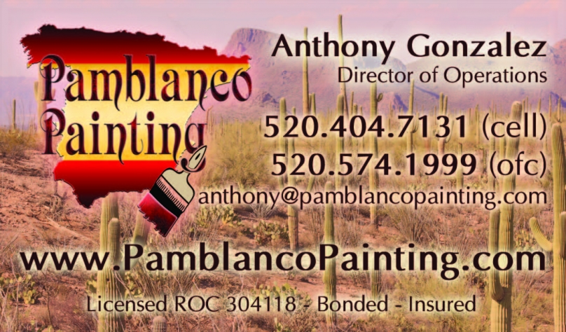 Pamblanco business card