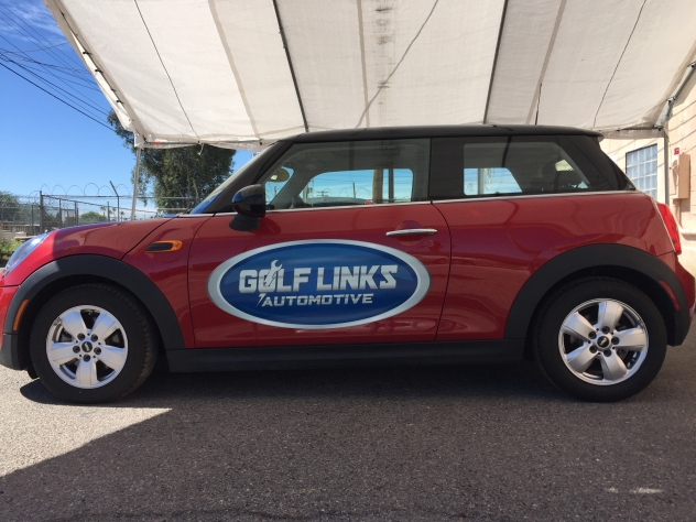 Golf Links Auto vehicle graphics