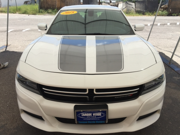 Tanque Verde Motors vehicle stripes - silver